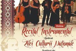 Recital online de Ziua Culturii Naționale