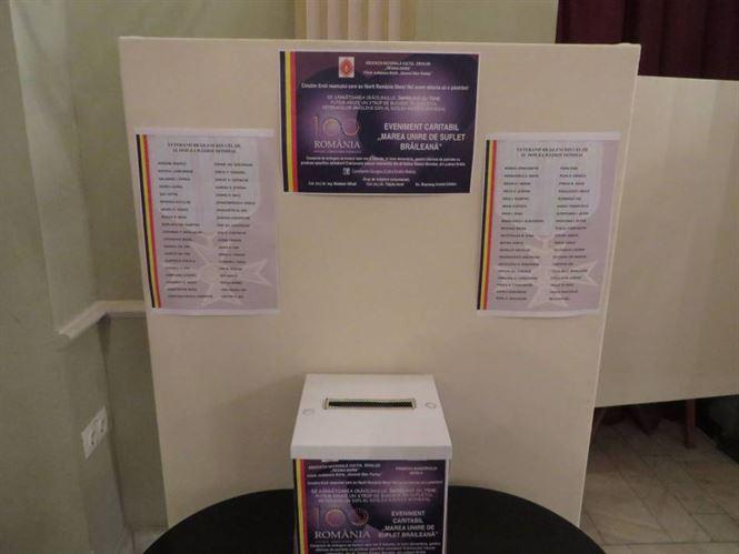 Eveniment caritabil dedicat veteranilor de război din Brăila