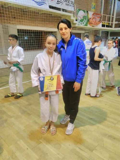Maria Naidin vicecampioana nationala de juniori 3 si selectionata la lotul national pentru Balcaniada