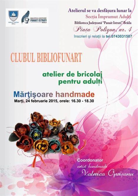 Doua evenimente organizate marti la Biblioteca Judeteana Panait Istrati