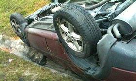 Un nou accident mortal la Albina