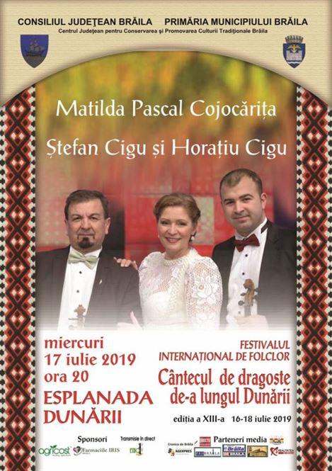 """Astăzi are loc a doua seară de concurs din cadrul Festivalului Internațional de Folclor """"Cântecul de Dragoste de-a lungul Dunării"""""""
