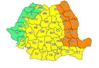COD PORTOCALIU de vijelii în județul Brăila