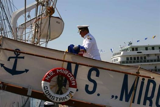"""Nava-școală """"Mircea"""" va putea fi vizitată joi și vineri de către brăileni"""