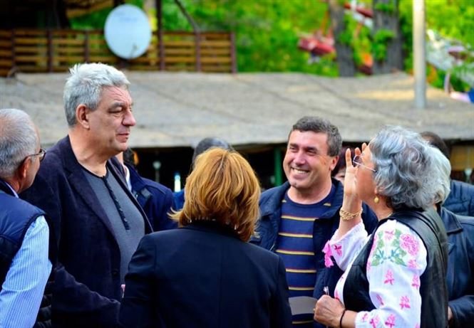 Mihai Tudose, un politician printre oameni