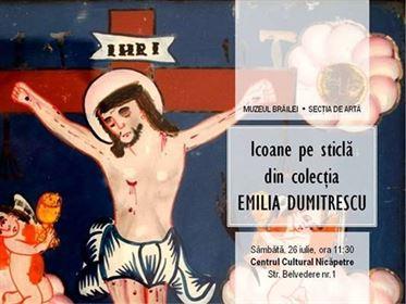 """Muzeul Brailei a gazduit a cincea prelegere """"Icoane pe sticla"""" din colectia """"Emilia Dumitrescu"""""""