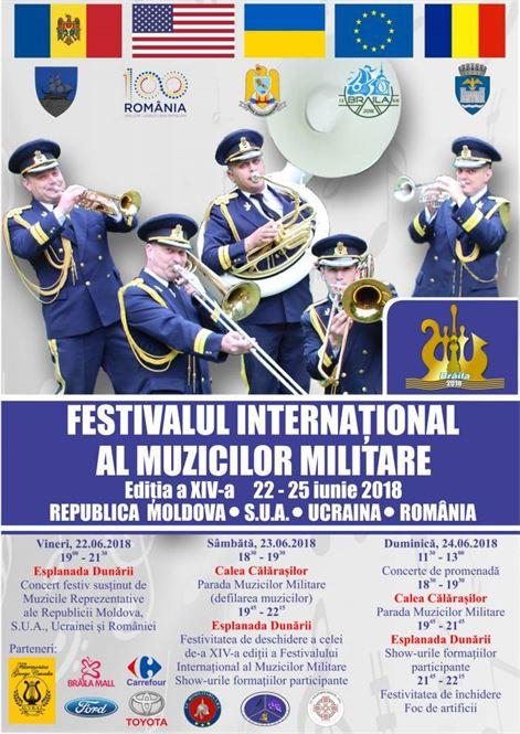 Festivalul Muzicilor Militare 2018, ediţia a XIV-a