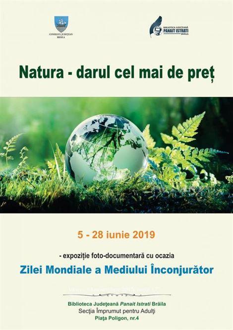 Ziua mondială a mediului marcată de Biblioteca Județeană Panait Istrati
