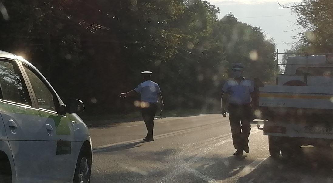 Acțiuni în stradă ale polițiștilor și jandarmilor brăileni