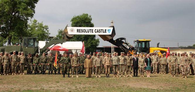 Ceremonialul de încheiere  a exerciţiului multinaţional Resolute Castle 19