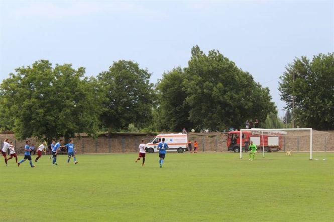 Victorie cu 5-0 în primul meci oficial al sezonului pentru Viitorul Ianca