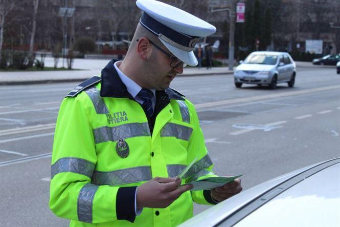 Polițiștii brăileni au lăsat fără permis 36 de șoferi