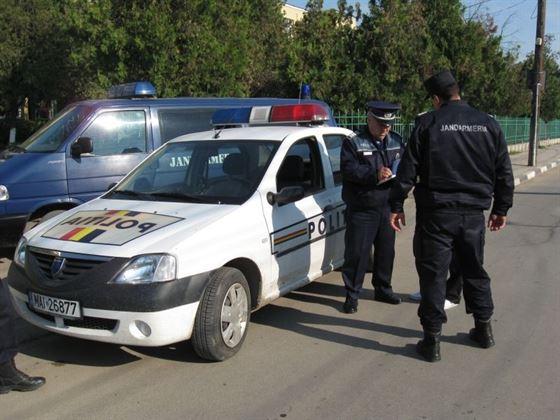 Actiuni ale politistilor cu sprijinul jandarmilor