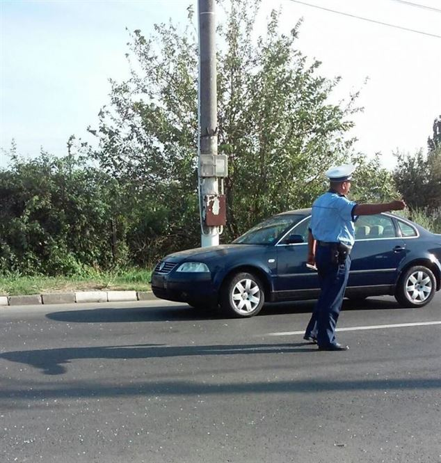 Bărbat din comuna Viziru, depistat la volan fără permis pe străzile din municipiu