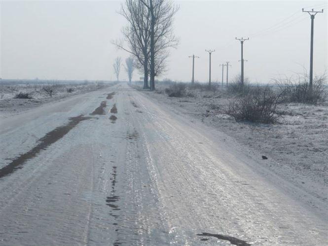 Informare meteo de vreme rece, precipitatii si polei