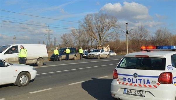 Polițiștii brăileni au reținut, în weekend, 33 de permise în vederea suspendării dreptului de a conduce