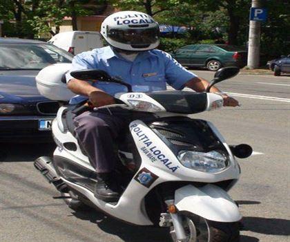 Politia Locala a fost dotata pentru paza Parcului Monument
