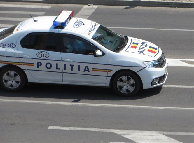 Bărbat din Romanu, băut la volan, a lovit alte două autoturisme pe șoseaua Rm. Sărat din Brăila