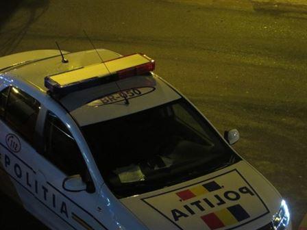 Șofer băut a fugit de polițiști