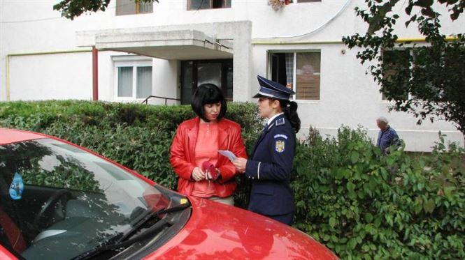 Poliţiştii se adresează posesorilor de autovehicule