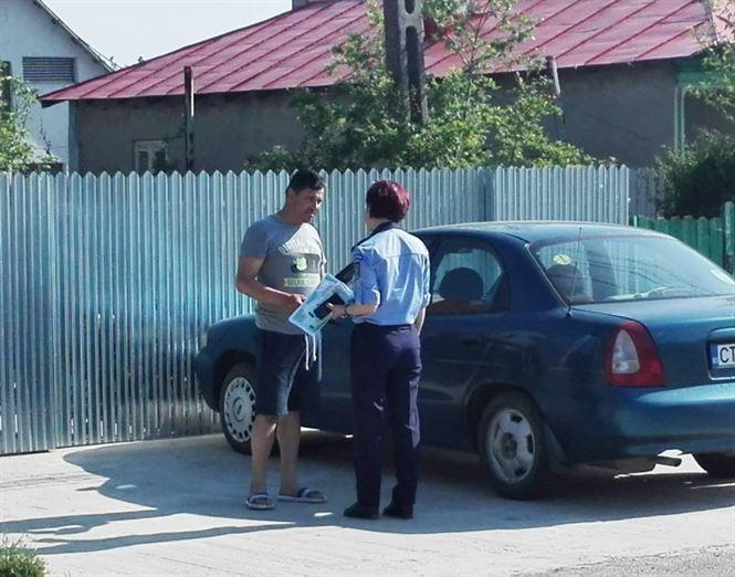 Mesajele politistilor braileni pentru siguranta autoturismului dumneavoastra