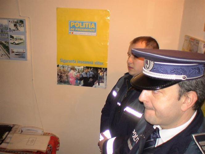 Actiuni ale politistilor de proximitate in zona unitatilor scolare