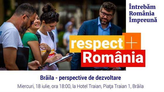 Braila – perspective de dezvoltare, dezbatere initiata de comunitatea RO100 Braila