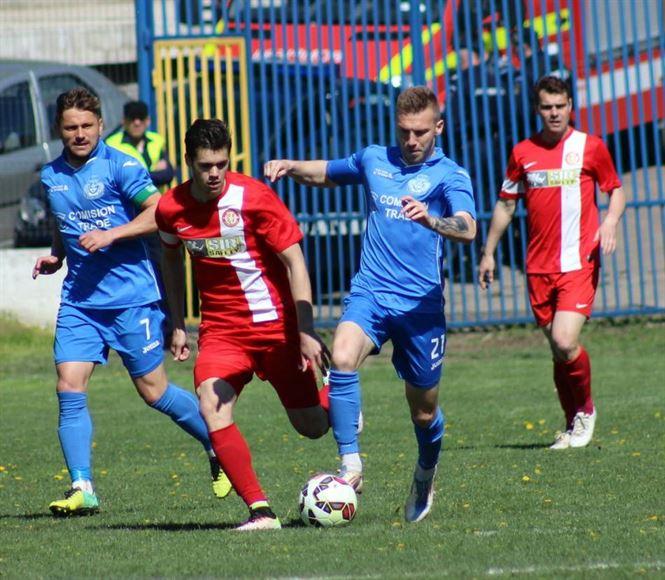 Dacia Unirea Braila invinsa la Bacau dupa ce a jucat 80 de minute in inferioritate