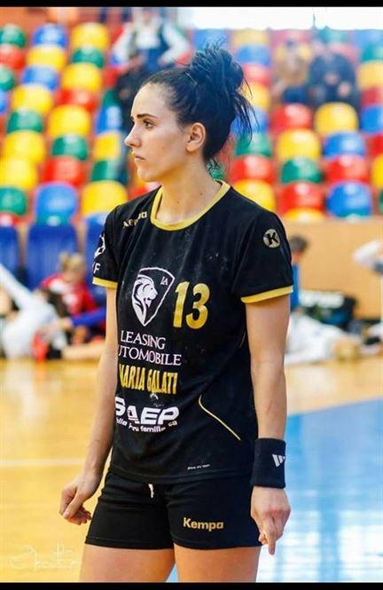 Nicoleta Safta este din acest sezon noul pivot al HC Dunarea Braila
