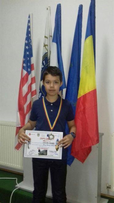 Eduard Ancuta, locul 2 la Cupa Sergentul