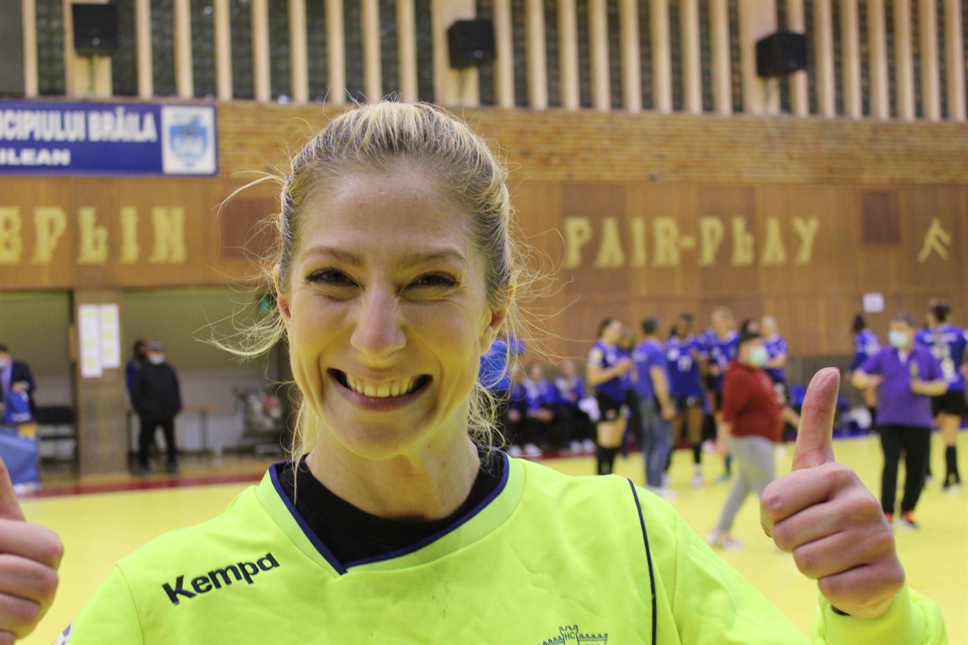 Declarații Elena Șerban după calificarea în grupele EHF Liga Europa