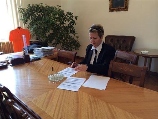 Simona Draghincescu, candidatul PDL Braila pentru europarlamentare