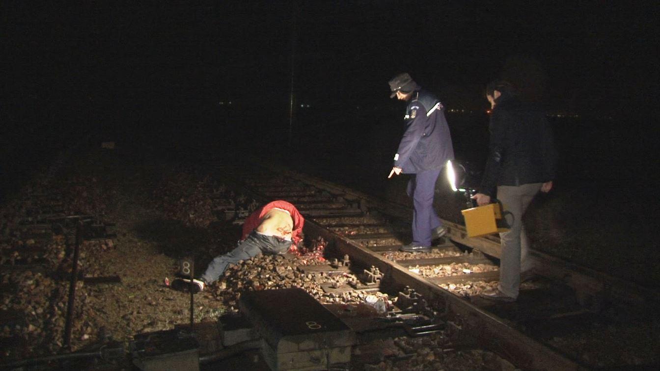 Galerie Foto. Un galatean s-a aruncat, aseara, in fata trenului, la Baldovinesti