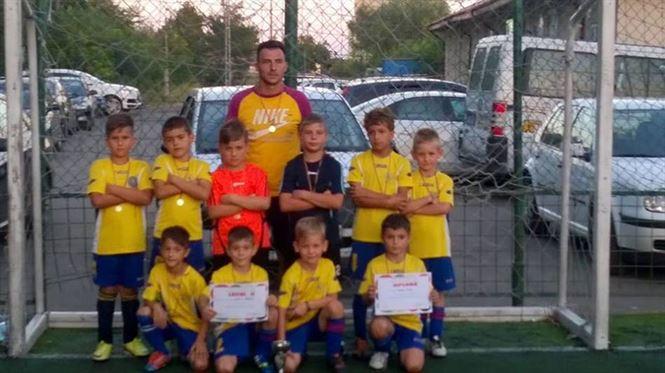Copiii de la Stars Braila pregatiti de Alex Balaban pe locul 2 la turneul de la Calarasi