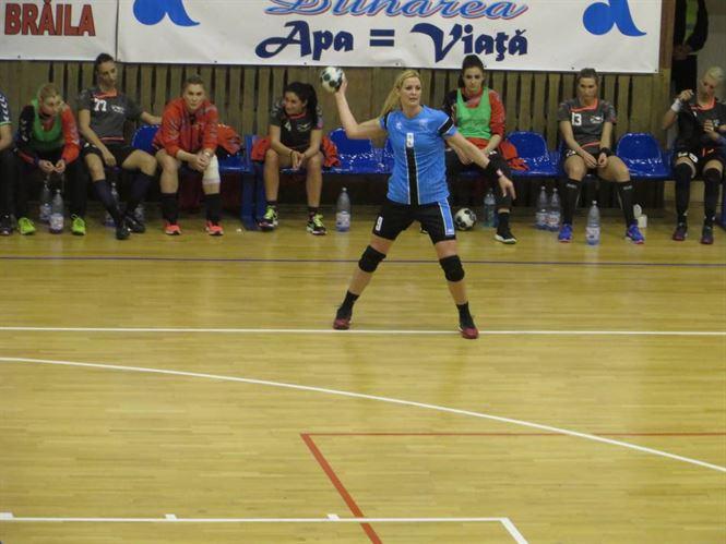 Gabriella Szucs, singura handbalista convocata la nationala, dintre cele care vor juca si sezonul viitor la Braila convocata la nationala