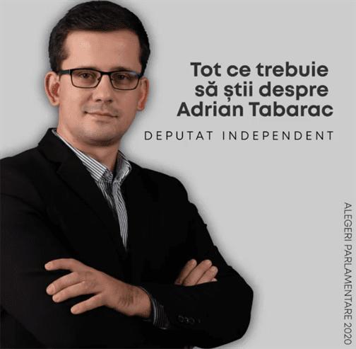 Adrian Tabarac acuzat că ar fi comis fals în documente publice
