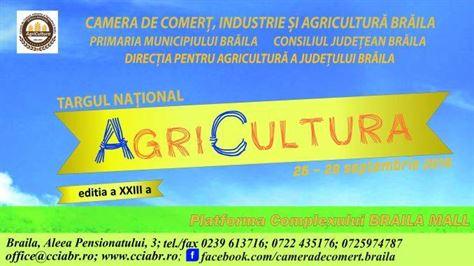 Astăzi se deschide Târgului Național AgriCultura