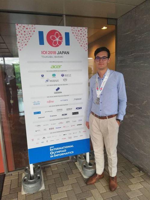 Alex Tatomir, încă o medalie la Olimpiada Internațională de Informatică din Japonia