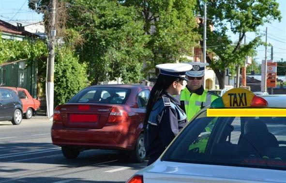 Sanctiuni privind transportul in regim de taxi
