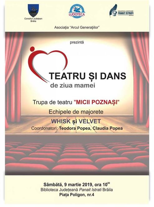 Spectacol de teatru și dans pentru copii