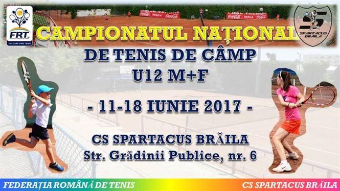 Campionatul national de tenis U 12 se va desfasura la Braila