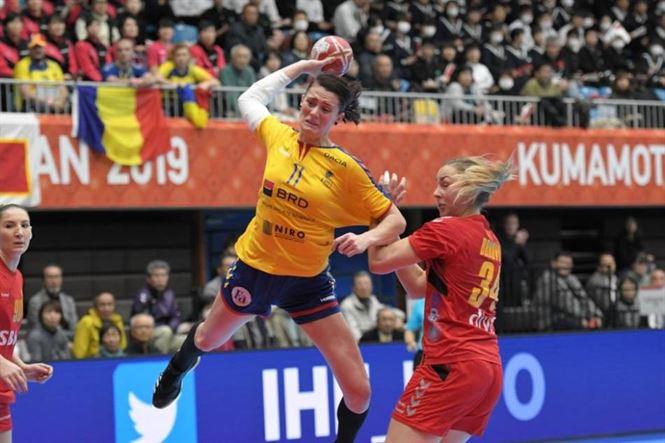 Dache, Udriștioiu și Perianu au marcat 11 goluri pentru România în meciul pierdut cu 26-27 în fața naționalei din Muntenegru