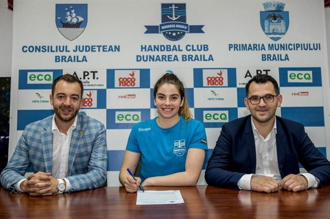 Ioana Balaceanu a semnat pentru 3 sezoane cu Dunarea Braila