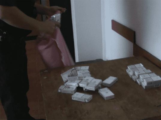 Contrabandă cu țigări