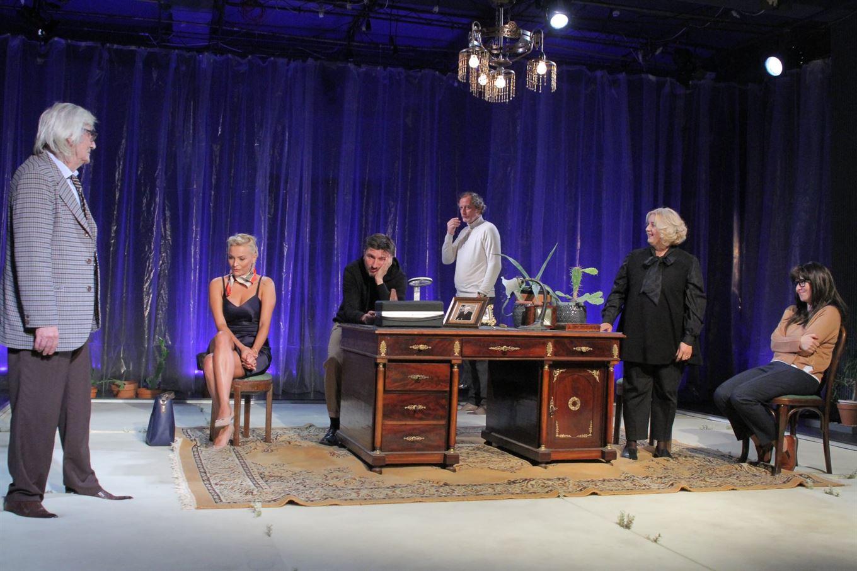 """""""Conversație după înmormântare"""" pe scena Teatrului Maria Filotti"""