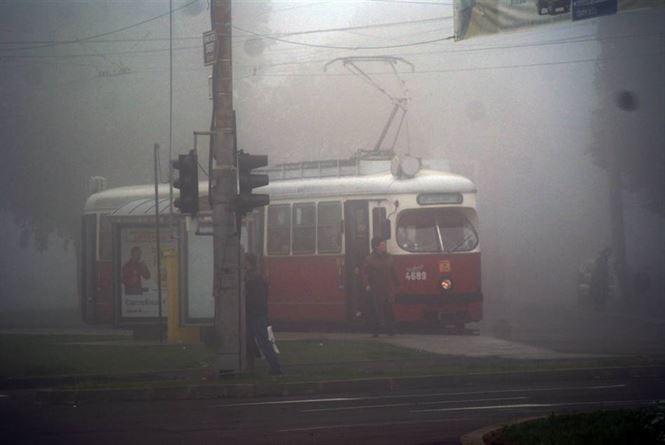 S-a reluat circulație tramvaielor pe Dorobanți