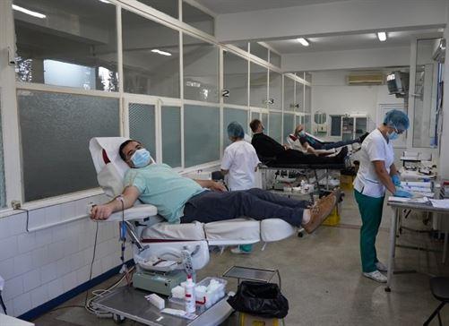 """Campania umanitară """"Donează sânge, salvează o viaţă!"""""""