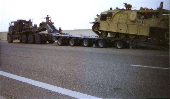 Un transport agabaritic cu echipament militar va străbate județul Brăila