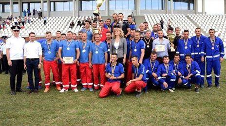 Pompierii de la Vard Brăila locul 2 la concursul profesional pentru Situaţii de Urgență