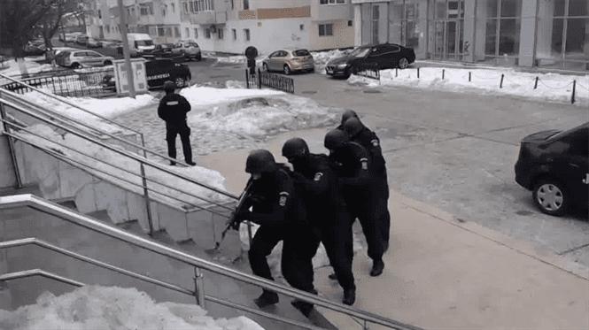 Video: Interventie a jandarmilor la un incident produs la AJFP Braila